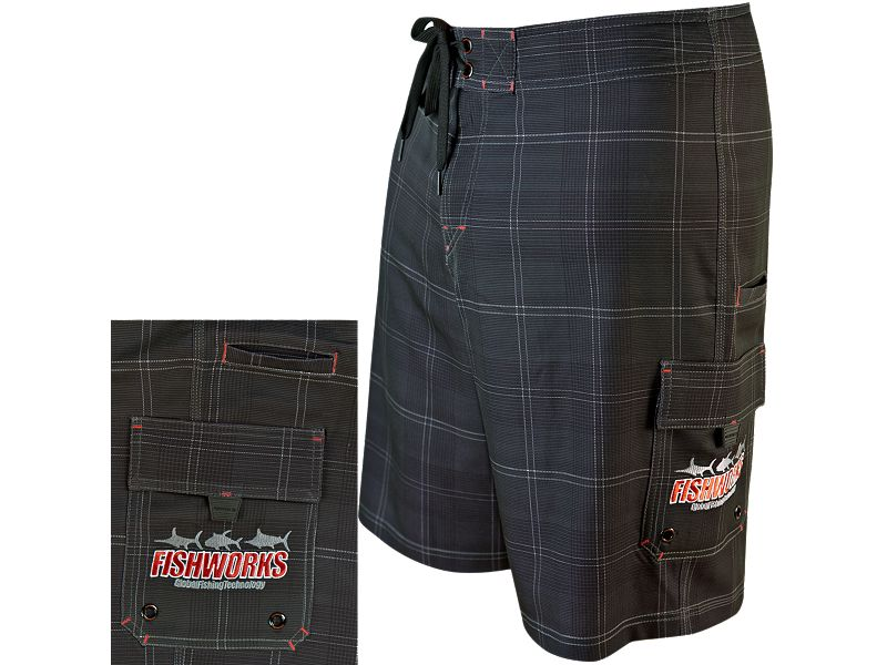 Fishworks Stretch Plaidical Boardshorts