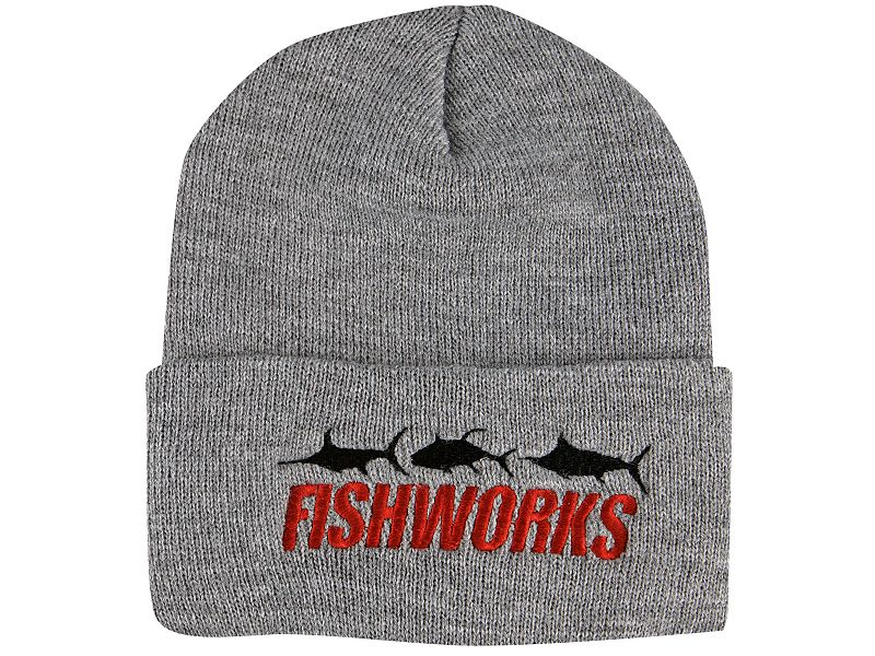 Fishworks 3 Fish Impact Logo Beanie