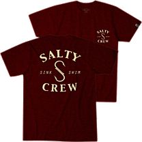 Salty Crew Heathered S Hook T-Shirt