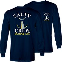 Salty Crew Chasing Tail Tech Long Sleeve Shirt