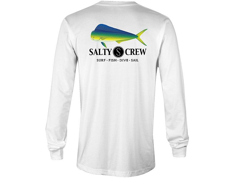 Salty Crew Mahi Tech Long Sleeve Shirt