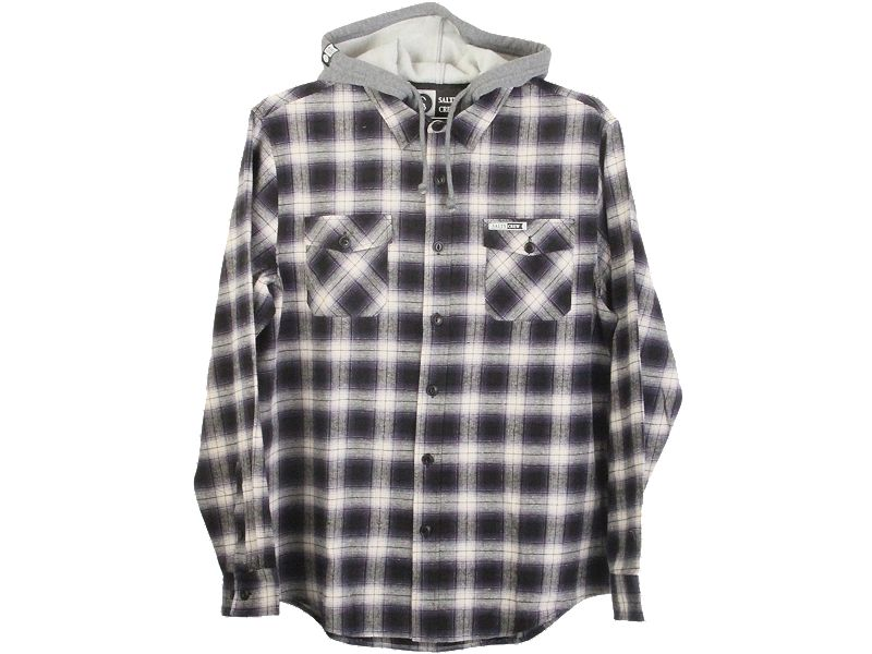 Salty Crew Shroud Hooded Flannel