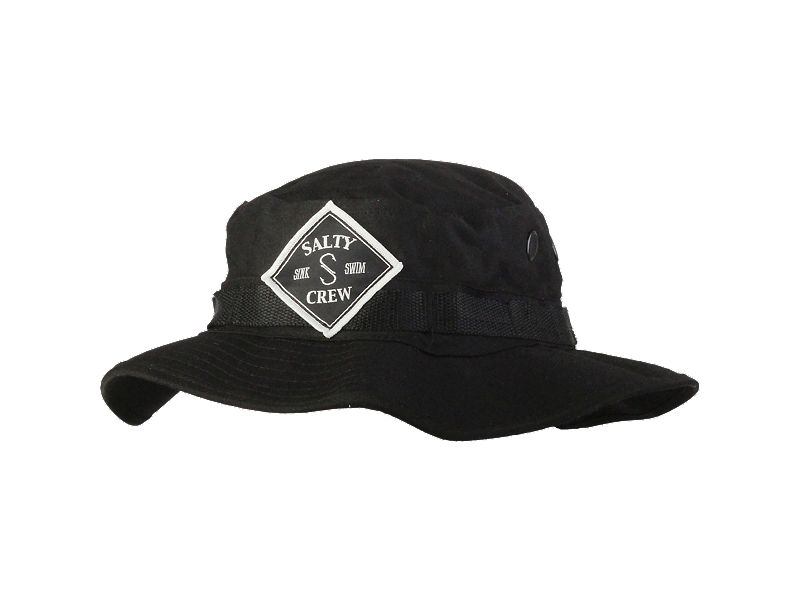 Salty Crew Tippet Patched Bucket Hat