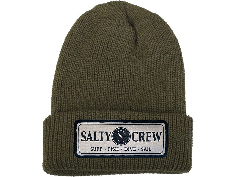 Salty Crew Commodore Cuffed Beanie