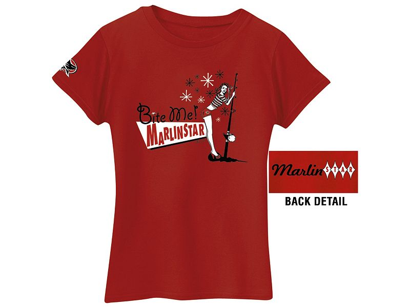 "Marlinstar ""Bite Me"" Ladies T-Shirt"