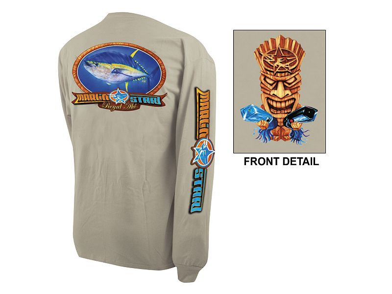 "Marlinstar ""Royal Ahi Tiki"" Long Sleeve Shirt"