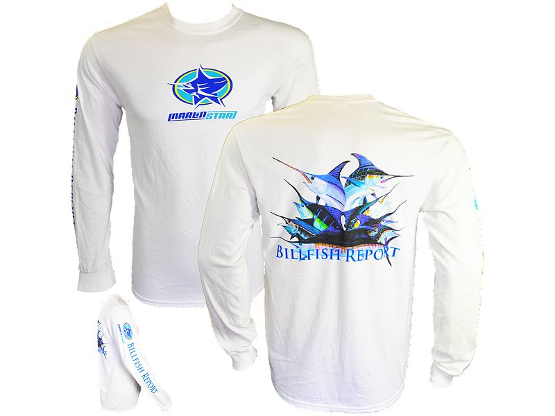 Marlinstar Billfish Report Long Sleeve Shirt