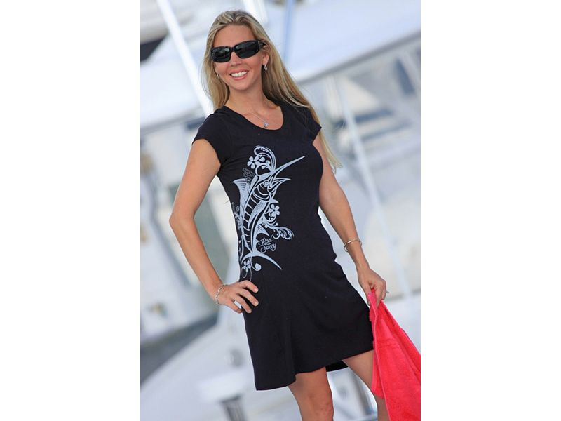 Reel Sassy Marlin Tattoo Dress