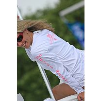 "Reel Sassy ""Team"" Reel Sassy Long Sleeve Performance Shirt"