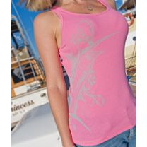 Reel Sassy Lateral Marlin Ribbed Tank Top