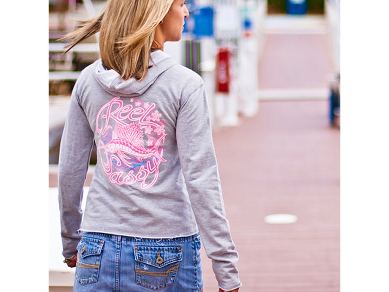 Reel Sassy Sailfish Fleece Hoody