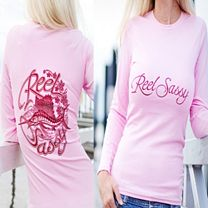 Reel Sassy Sassy Performance Long Sleeve Shirt