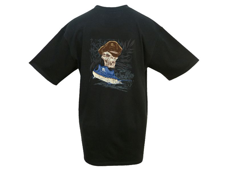 Hook & Tackle Pirate Sailfish T-Shirt