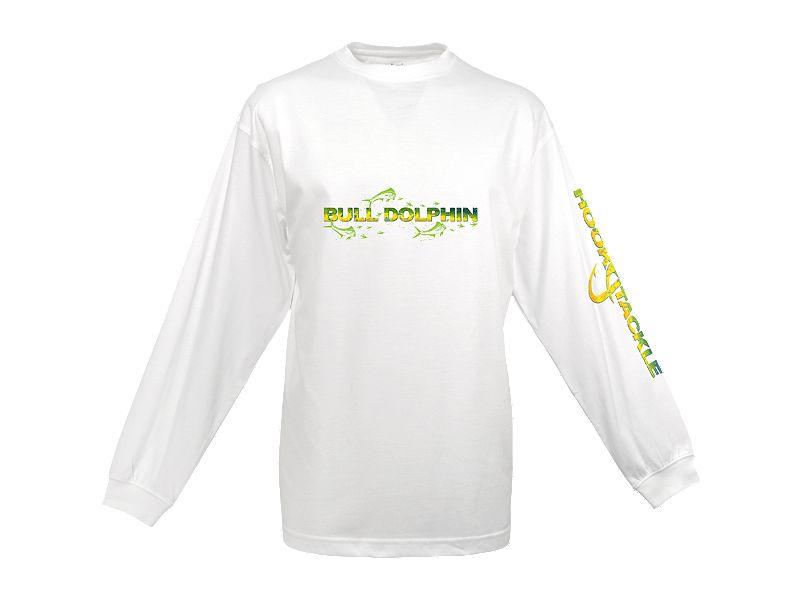 Hook & Tackle Dolphin Skinz Tech Long Sleeve Shirt