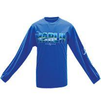 Hook & Tackle Alpha Marlin Solar System Tech Long Sleeve Shirt