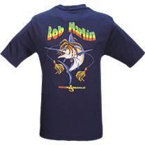 Hook & Tackle Bob Marlin T-Shirt
