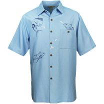 Hook & Tackle Fish Bounty Buttondown Shirt