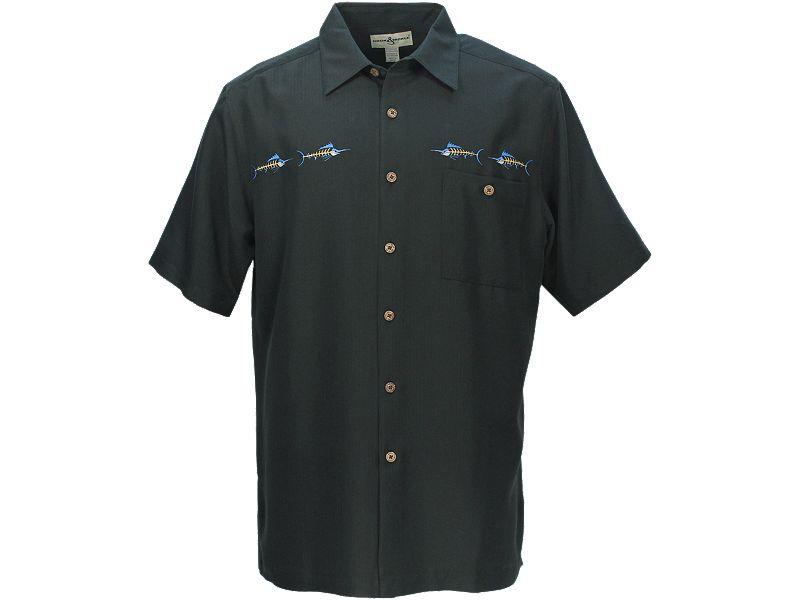 Hook & Tackle Marlin Bones Buttondown Shirt