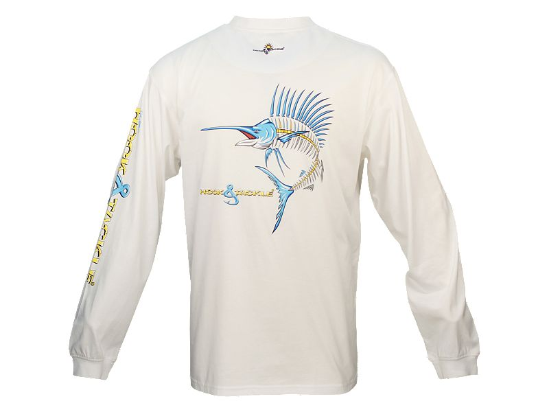 Hook & Tackle Sailfish Action X-Ray Solar System Long Sleeve Shirt