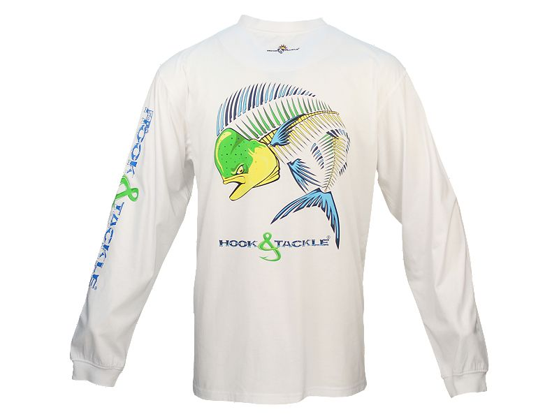 Hook & Tackle Dolphin Action X-Ray Solar System Long Sleeve