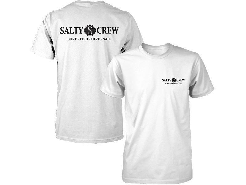 Salty Crew Rail Logo T-Shirt