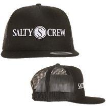Salty Crew Rail Logo Trucker Cap