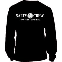 Salty Crew Rail Logo Long Sleeve Shirt