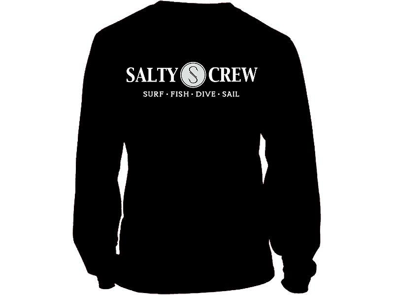 Salty Crew Rail Logo Long Sleeve Shirt