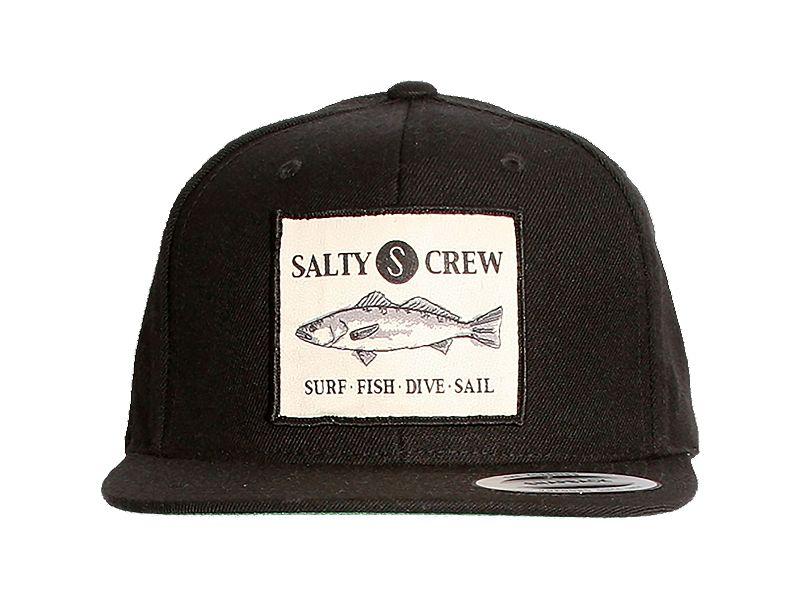 Salty Crew Seabass Patch Cap