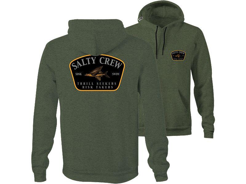 Salty Crew Leeward Fleece Hoody