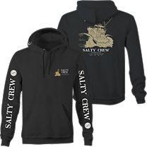 Salty Crew Impact Zone Fleece Sweatshirt
