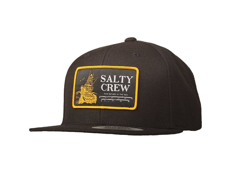 Salty Crew Impact Zone Patched Hat