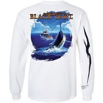 Black Bart Meets TuTu Long Sleeve Shirt