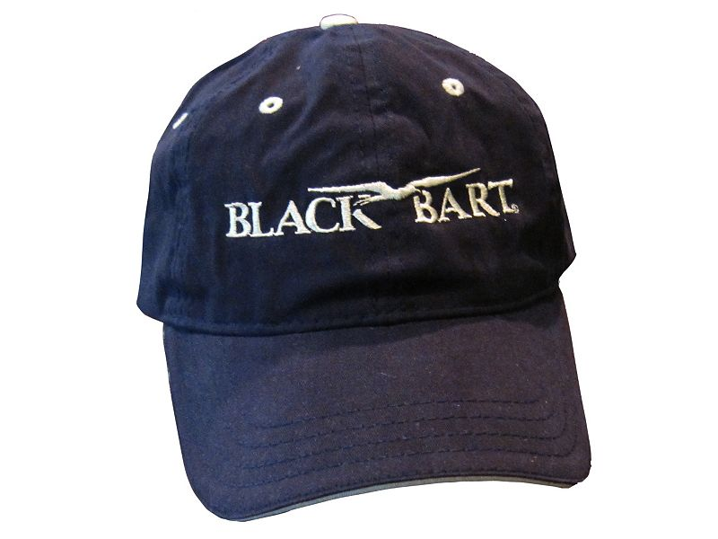 Black Bart Logo Cap
