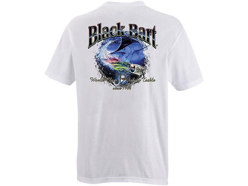 Black Bart Marlin Lure T-Shirt