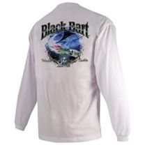 Black Bart Marlin Lure Long Sleeve Shirt