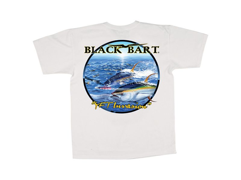 Black Bart Yellowfin Tuna Invasion T-Shirt