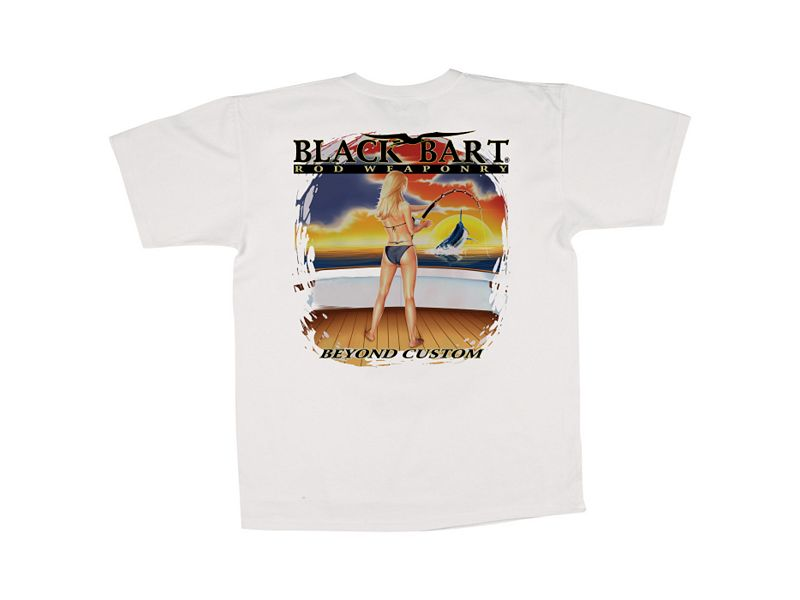 Black Bart Girl Beyond Custom T-Shirt