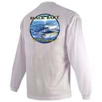 Black Bart Yellowfin Tuna Invasion Long Sleeve Shirt