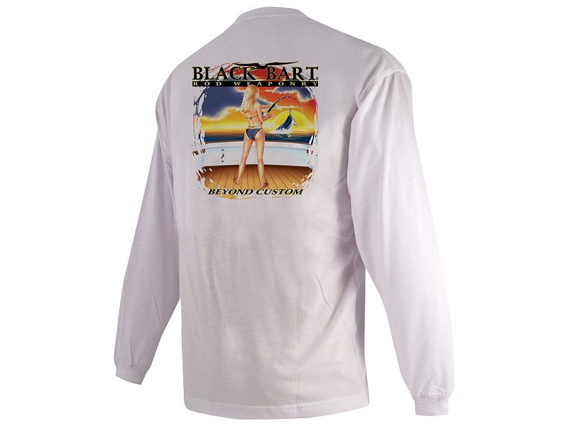 Black Bart Girl Beyond Custom Long Sleeve Shirt
