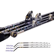 Black Bart Blue Water Pro IGFA Chair Rods