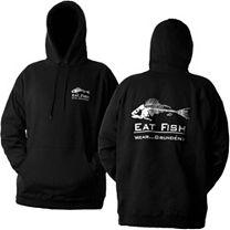 Grundens Eat Fish Hooded Sweatshirt