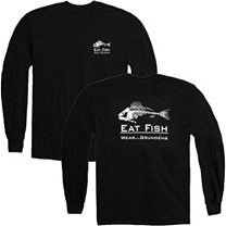 Grundens Eat Fish Long Sleeve Shirt