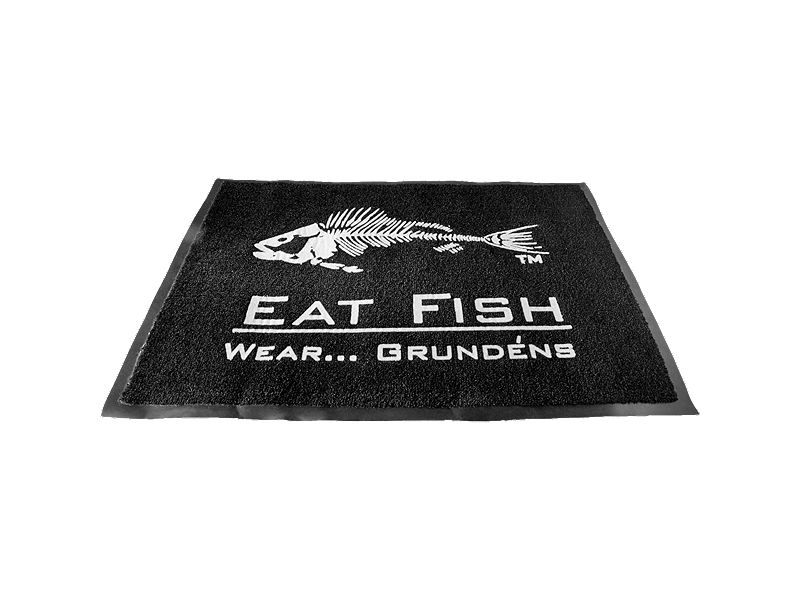 Grundens Eat Fish Floor Mat