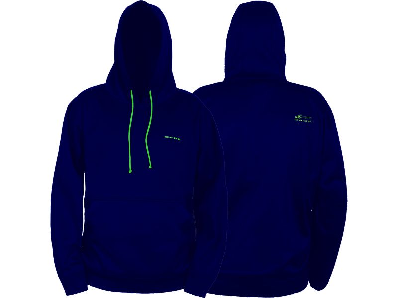 Grundens Gage Fogbow Poly Tech Hooded Sweatshirt
