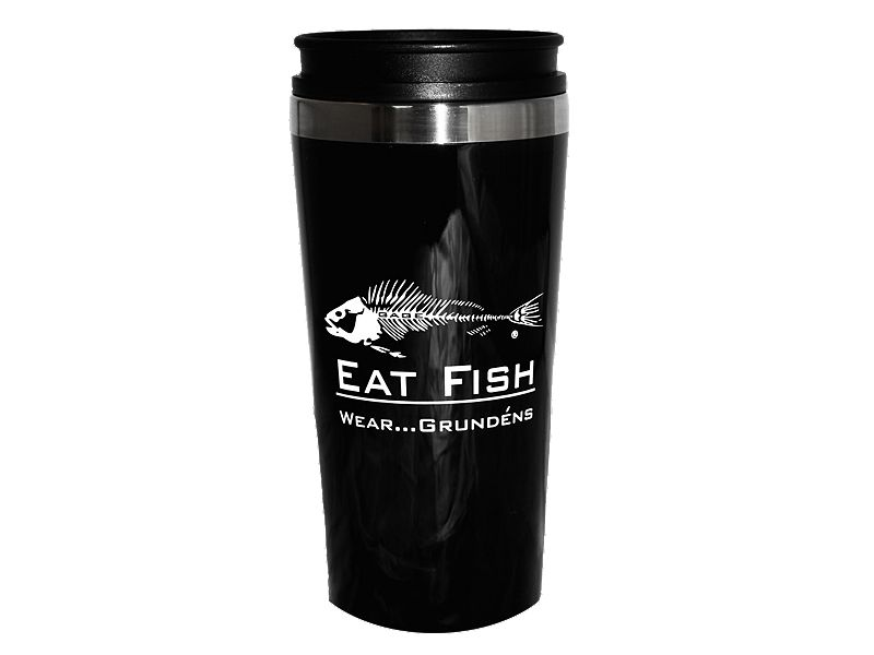 Grundens Eat Fish Travel Mug