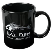 Grundens Eat Fish Coffee Mug