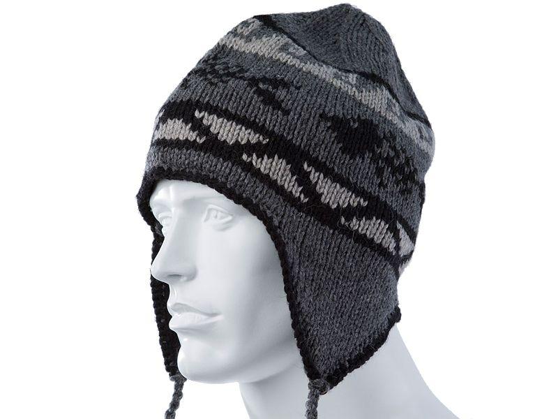 Grundens Gage Wool Blend Flap Cap