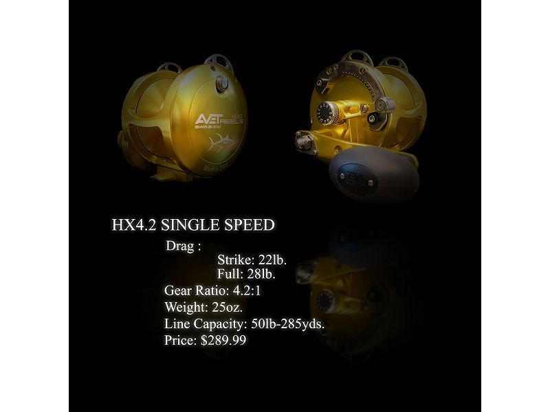 Avet HX 4.2 Single Speed Reel