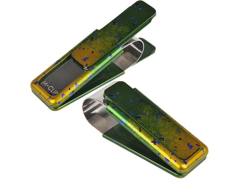 Painted Dorado M-Clip - HIGH ROLLER